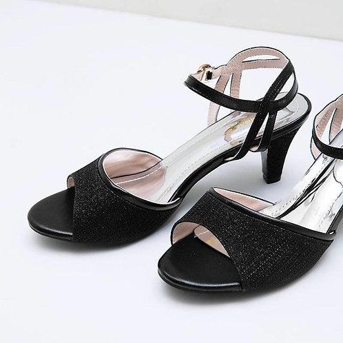 Veby Peep Toe Heels