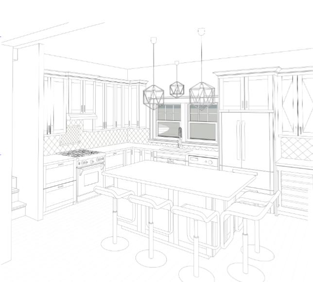 Unit 64 Kitchen