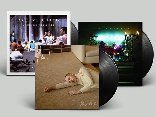 LP - 3 Vinyl Bundle