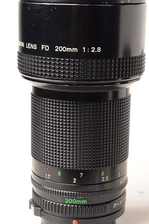 Canon 200mm F2.8 FD