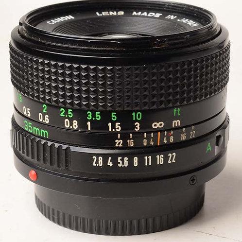 Canon FD 35mm lens