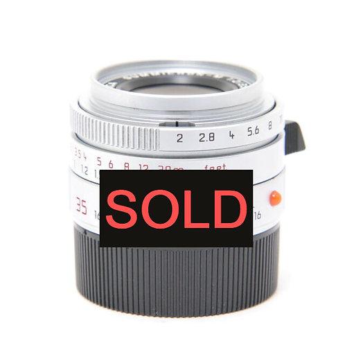 Leica 35mm F2 ASPH Silver