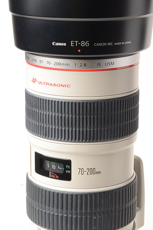 Canon EF 70-200mm f2.8L IS lens - Secondhand canon lenses