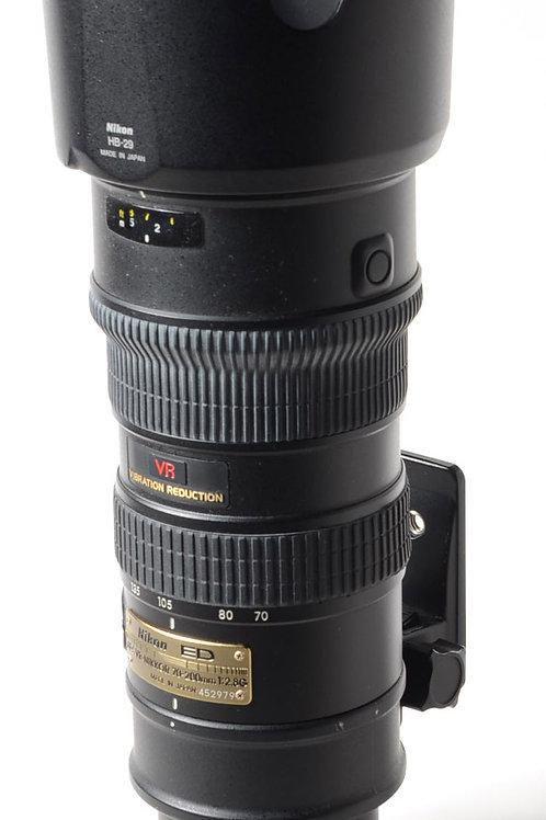 Nikon 70-200 VR