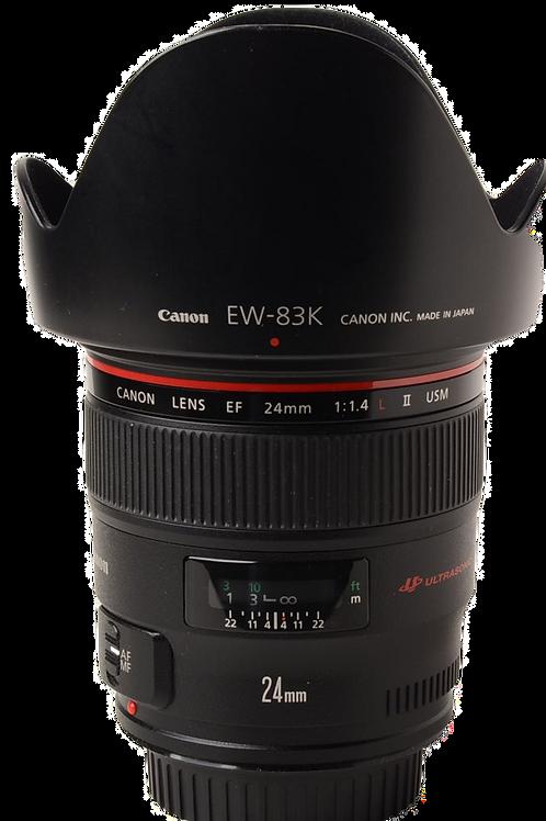 Canon 24mm F1.4L II