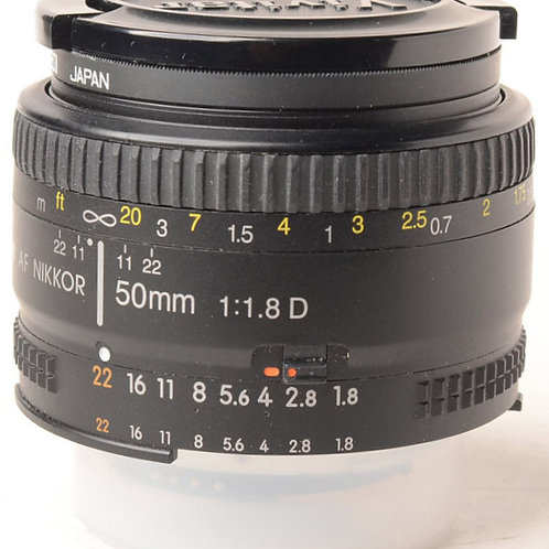 Nikon 50mm F1.8 AFD