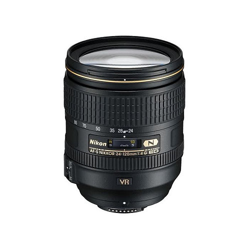 Nikon AF-S 24-120mm f/4 G ED VR Lens