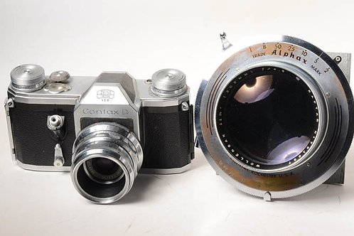 Wollensak Raptar 302/4.5 fast lens for 8X10