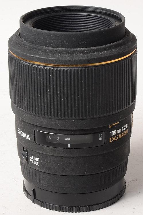 Sigma 105mm f2.8 DG Macro - Sony A Mount