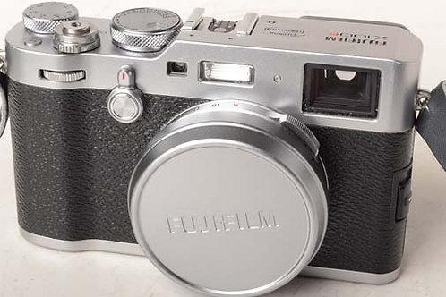 Fujifilm X100F Silver camera