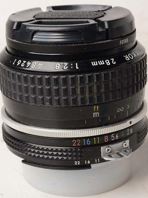 Nikon 28mm F2.8 Ai