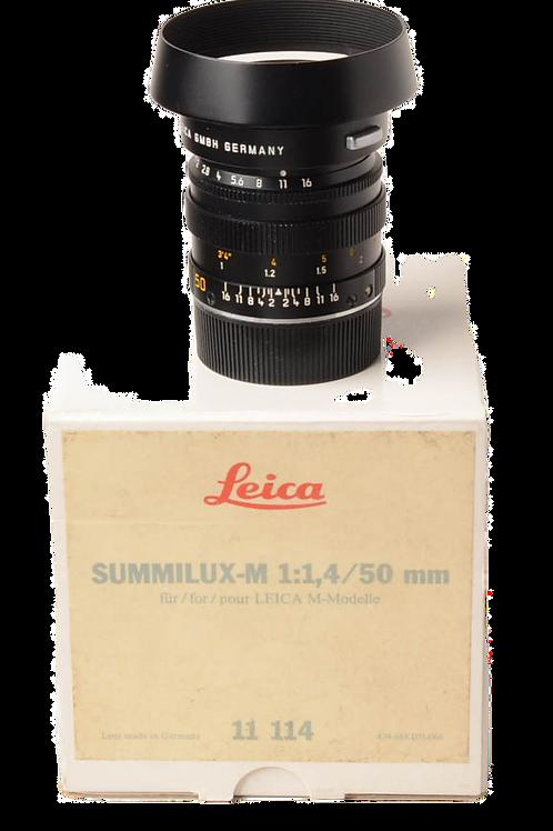 Leica 50mm F1.4 M