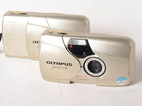 Olympus MJU-II 35mm compact camera