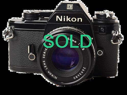 Nikon EM/50mm F1.8