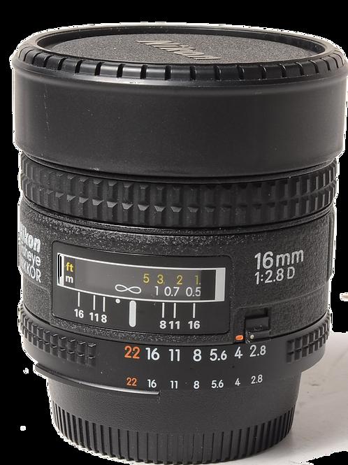 Nikon 16mm F2.8 D
