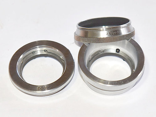 Leica DNWOO & DOOBC adapters - coll lens to enlarger