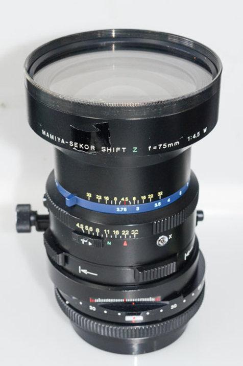 75mm Shift lens for RZ67