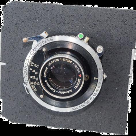 Schneider 135/6.8 symmar lens