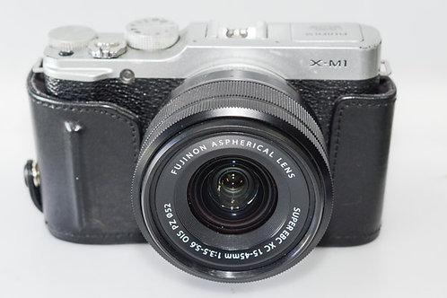 Fujifilm X-M1 Compact digital camera.