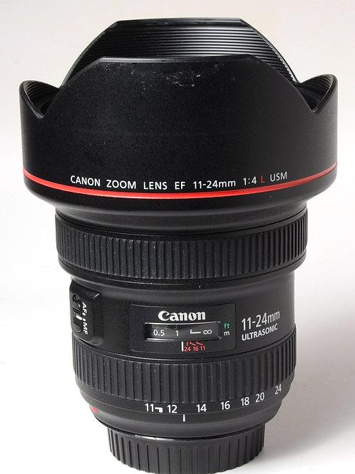 Canon 11-24mm f4 L