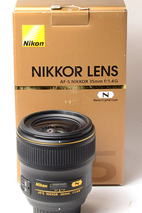 Nikon 35mm f1.4 G AF-S