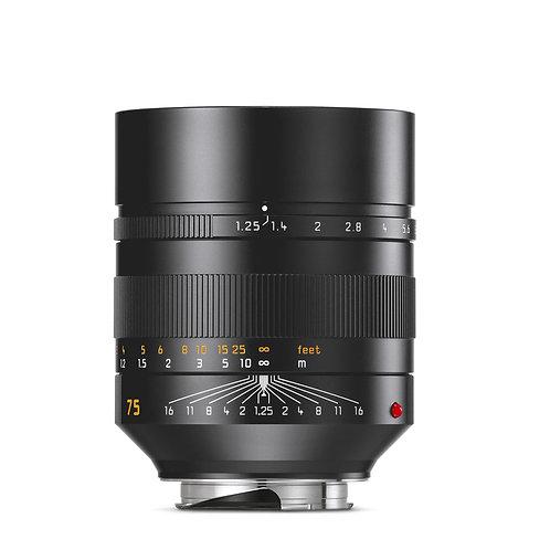 Leica 75mm f1.25 Noctilux