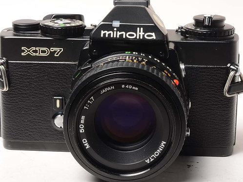 Minolta XD7 50mm F1.7