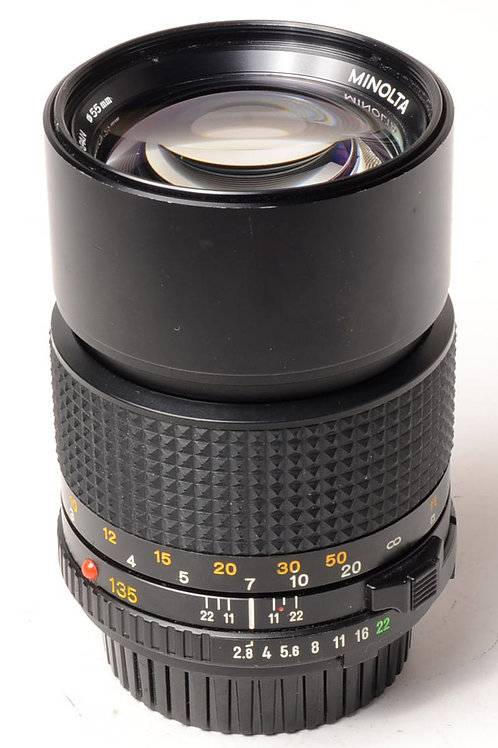 Minolta MD 135mm f2.8