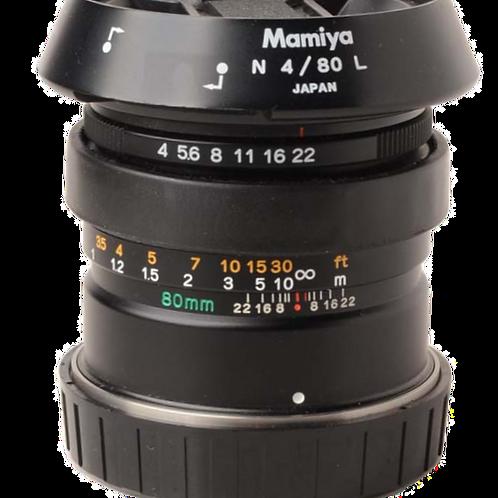 Mamiya 80mm F4