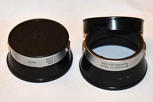 Leica IROOA and ITDOO lens hoods