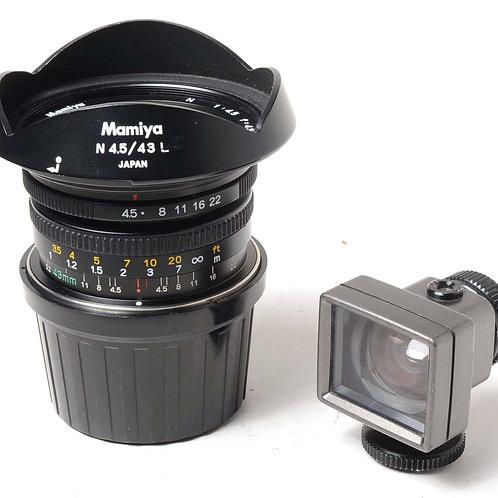 Mamiya 43mm f4.5 L + Finder