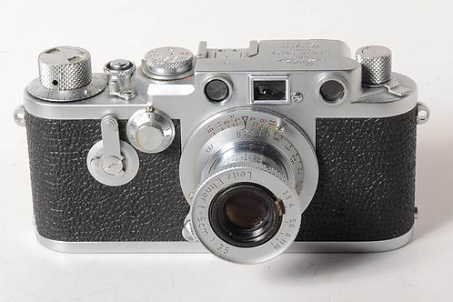 Leica IIIF Red Dial/Self Timer with red-scale elmar