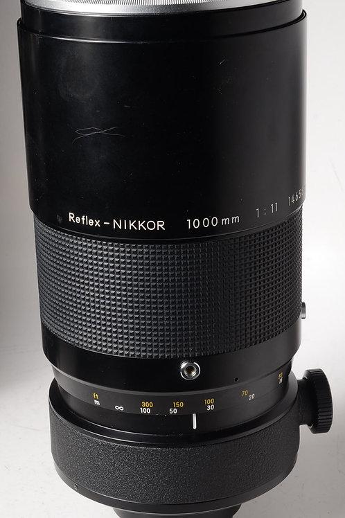 Nikon 1000mm f11 Reflex