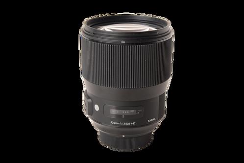 Sigma 135mm f1.8 ART