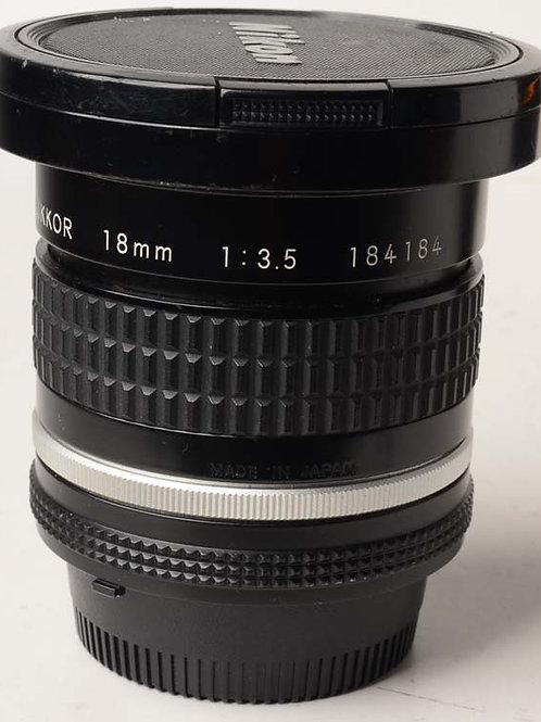 Nikon 18mm F3.5 MF