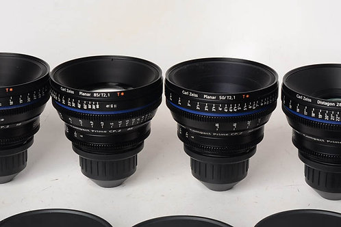 Zeiss CP.2 50mm T1.5 super speed lens Sony E