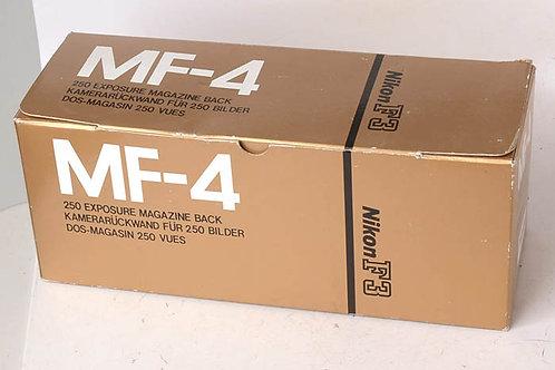 Nikon MF-4 250 back for F3-HP - Mint!