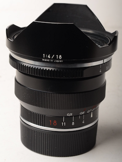 Zeiss 18mm F4 ZM