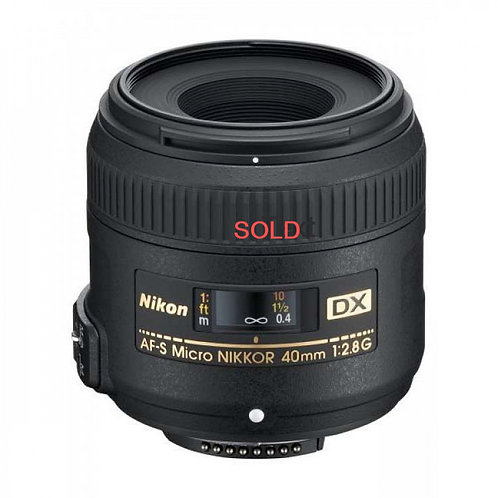 Nikon 40mm Macro DX