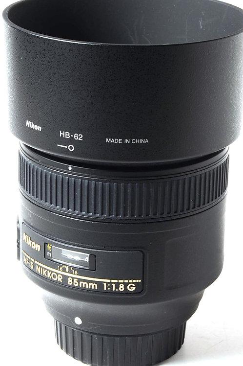 Nikon 85mm F1.8 G