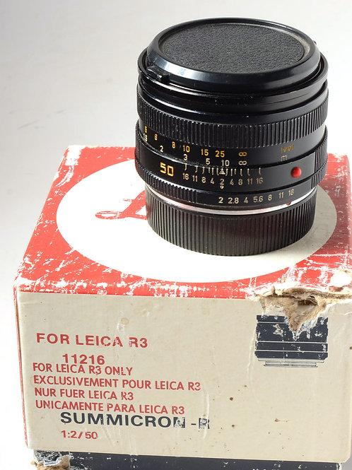 Leica 50F2 R