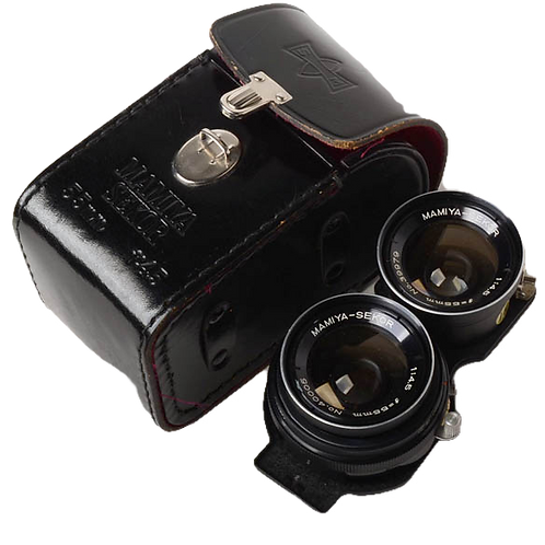 Mamiya 55mm wide angle lens for C330 TLR