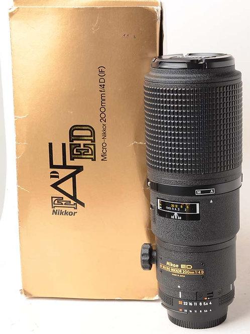Nikon 200mm Macro