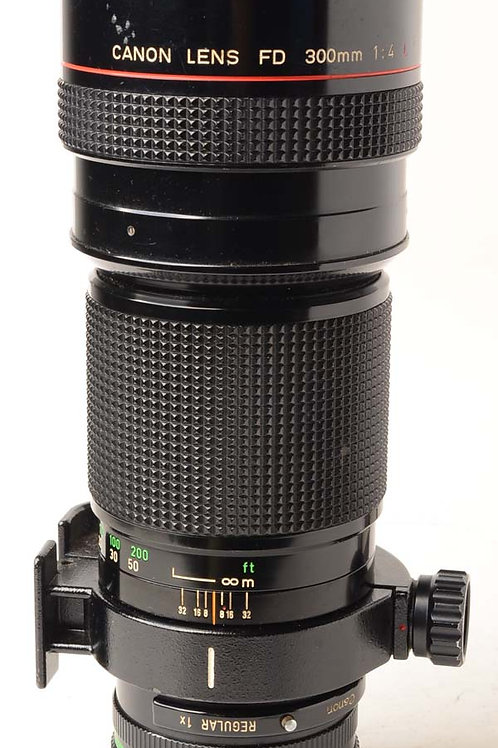 Canon 300m F4L  FD