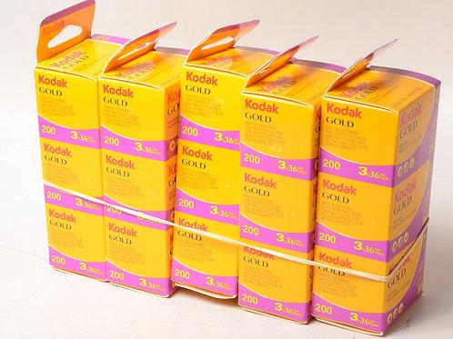 Kodak 36 shot 200 ASA  3pack film Just In