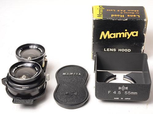 Mamiya 55mm f.4.5