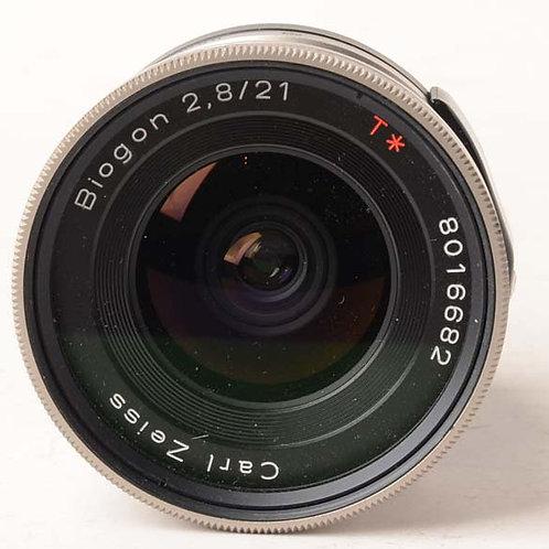 Contax 21mm f2.8 Biogon