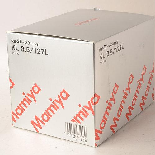 Mamiya 127mm F3.5 KL