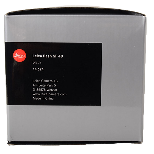 Leica SF40 flash