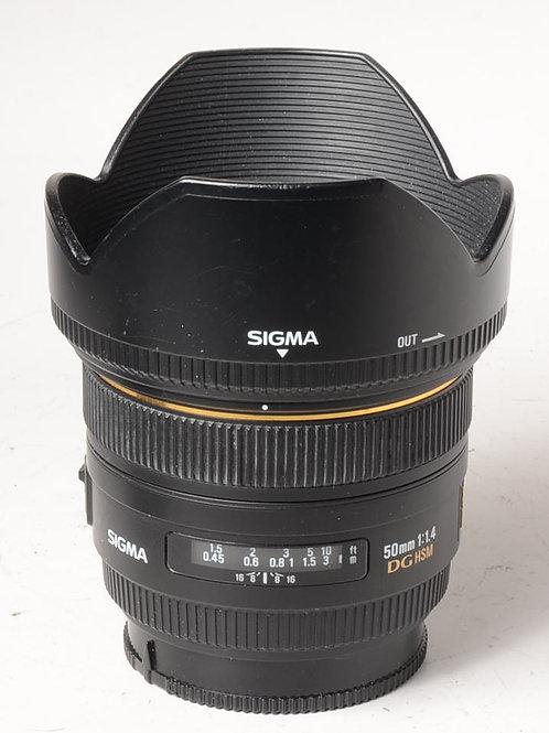 Sigma 50mm f1.4 DG HSM - Sony A Mount